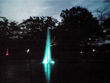 代々木公園噴水1
